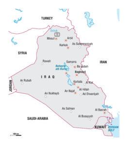 Carte Iraq